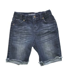 Girls Cat & Jack Bermuda Jean Shorts